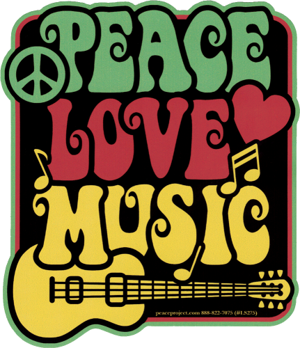 Reggae - Rasta Bumper Stickers and Decals | Peace Resource Project