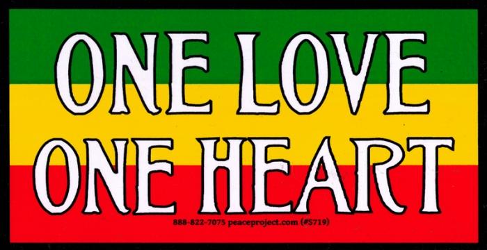 Reggae Rasta Bumper Stickers And Decals Peace Resource Project Custom Love Quote For Rastafari
