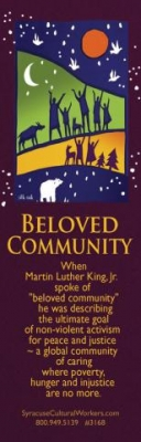 BM15 - Beloved Community - MLK - Bookmark