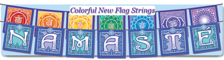 Colorful New Flag Strings