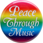 B048 - Peace Through Music - Button