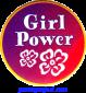 Girl Power - Button