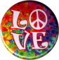"LOVE - Button / Pinback (1.25"")"