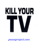 B387 - Kill Your TV - Button