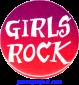 B541 - Girls Rock - Button