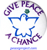 B0004 - Give Peace A Chance - Button