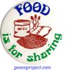 B061 - Food Is For Sharing - Button