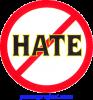 No Hate - Button / Pinback (1.5)