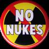"""No Nukes - Button / Pinback (1.5"""")"""