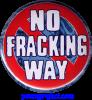 No Fracking Way - Button