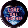 """Love One Another - Button / Pinback (1.5"""")"""