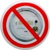 "No Smart Meters - Button (1.5"")"