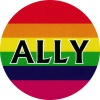 "Ally - Button / Pinback (1.5"")"