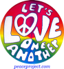 Lets Love One Another - Button