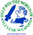 B0001 - Help Rid the World of Nuclear Weapons - Button