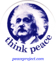 B081 - Think Peace - Button