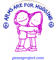 B086 - Arms Are For Hugging - Button