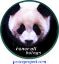 Honor All Beings - Button