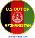 "U.S. Out Of Afghanistan - Button / Pinback (1.75"")"