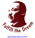 B108 - Fulfill The Dream - Martin Luther King Jr. - Button