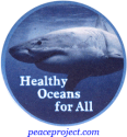 Healthy Oceans For All - Button