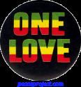 Reggae / Rasta Buttons