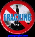 No Fracking - Button