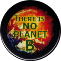 "There is No Planet B - Button / Pinback (1.75"")"