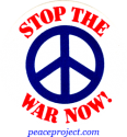 B328 - Stop The War Now - Button