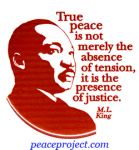 B435 - True Peace Is Not Merely The Absence Of Tension... - Button