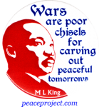 B659 - Wars Are Poor Chisels For Carving Out Peaceful Tomorrows - Button