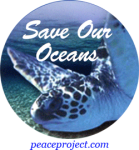 "Save Our Oceans - Button / Pinback (2.25"")"