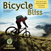 Bicycle Bliss - 2018 Wall Calendar