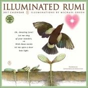 The Illuminated Rumi - 2017 Wall Calendar