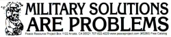 SC280 - Military Solutions are Problems - Bumper Sticker