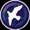 WA024 - Peace Dove - Window Sticker