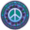 WA050 - Signs of Peace - Window Sticker