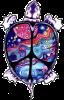 WA057 - Turtle Peace - Window Sticker