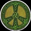 Celtic Peace - Window Sticker