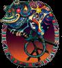 "Phat Peace - Window Sticker / Decal (4"" X 4.5"")"
