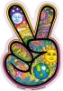 "Peace Hand - Window Sticker / Decal (4"" x 6"")"