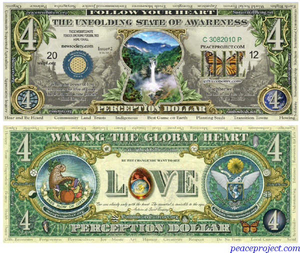 Perception Dollar Version 2 (Pack of 10)