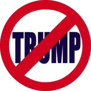 "No Trump - Button / Pinback (1.75"")"