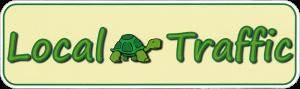 "Local Traffic - Small Bumper Sticker / Decal (6"" X 1.75"")"