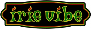 "Irie Vibe - Bumper Sticker / Decal (10"" X 3.5"")"