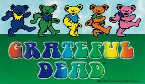 """Grateful Dead Dancing Bears - Bumper Sticker / Decal (6"""" X 3.5"""")"""