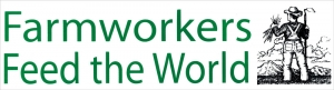 """Farmworkers Feed the World - Bumper Sticker / Decal (11.5"""" X 3.25"""")"""