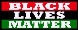 """Black Lives Matter - Small Bumper Sticker / Decal (6.5"""" X 2.5"""")"""