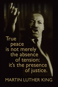 True Peace - MLK - Postcard