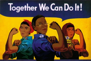 Together We Can Do It! - Postcard